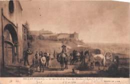 BELLAY Francois Le Marche De La Place Des Minimes A LYON 13(scan Recto-verso) MA657 - Lyon