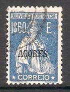 005565 Azores 1925 Ceres 1$60 FU Perf 12 X 11.5 - Azores