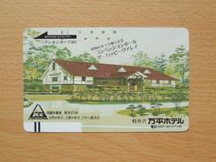 Japon Japan Free Front Bar, Balken Phonecard - 110-4669 / Hotel - Japan