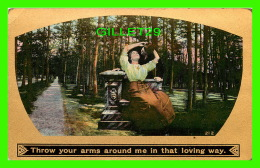 COUPLES -  THROW YOUR ARMS AROUND ME IN THAT LOVING WAY - 3/4 BACK - - Couples
