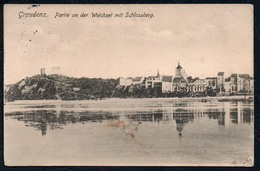A7009 - Alte Ansichtskarte - Graudenz Grudziądz - Schloßberg Und Weichsel - Moritz Maschke - Westpreussen