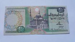 EGITTO 20 POUNDS 1991 - Egypte