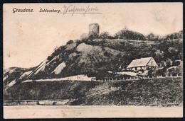 A7013 - Alte Ansichtskarte - Graudenz Grudziądz - Schlossberg - Gel 1914 - Westpreussen
