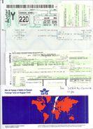 IATA  BILLET DE PASSAGE ET BULLETIN DE BAGAGES  1997 MARSEILLE  TUNIS - Billets D'embarquement D'avion