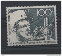 POLYNESIE  P.A  N°70 ** - GENERAL DE GAULLE  - Cote  70  € - De Gaulle (Generaal)