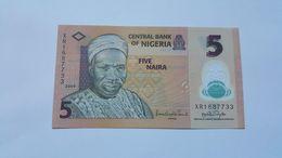 NIGERIA 5 NAIRA 2009 - Nigeria