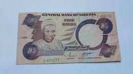 NIGERIA 5 NAIRA 2001 - Nigeria