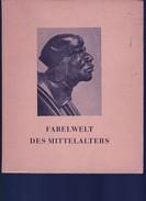 Un Livre Avec Photos De Sculpture  Bois Et Pierre Dans Les églises .Fabelwelt Des Mittelalters :1936 - Architecture