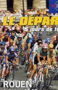 SPORTS /  CYCLISME   /   L 59   /  ROUEN  LE DEPART DU  TOUR DE FRANCE 1997   CPM / CPSM  10 X 15 - Cyclisme