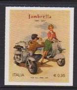 ITALY, 2017, MNH, MOTORBIKES, LAMBRELLA, ITALIAN PRODUCTS,1v - Motos