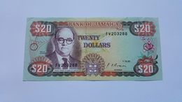 GIAMAICA 20 DOLLARS 1991 - Giamaica