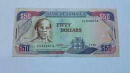 GIAMAICA 50 DOLLARS 1993 - Giamaica