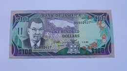 GIAMAICA 100 DOLLARS 1993 - Jamaique