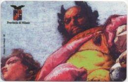 Scheda Telefonica ATW £. 22.000: Giovambattista Tiepolo, Palazzo Isimbardi, Milano - Pintura
