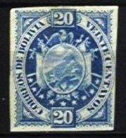 BOLIVIA, Yv 42, (*) MNG, F/VF - Bolivie