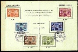 BOLIVIA, Booklets, Yv 375/7, Av 202/4, Used, F/VF, Cat. € 7,00 - Bolivie
