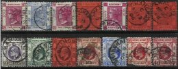 HONG-KONG, Yv 41, Etc., Used, F/VF - Used Stamps