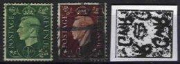 GREAT BRITAIN, Yv 209a, 211a: SG 462a, 464a, Used, F/VF, Cat. € 3,00 - Used Stamps
