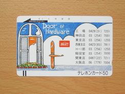 Japon Japan Free Front Bar, Balken Phonecard - 110-4750 / Door And Hardware - Japon