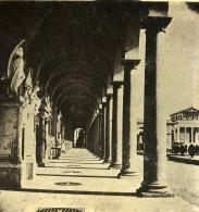 Italie Rome Cimetiere De Campo Verano Ancienne Photo Stereo 1885 - Stereoscoop