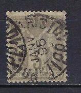 """FR YT 87 """" Sage 3c. Gris """" CAD Noir Des Imprimés - 1876-1898 Sage (Type II)"""