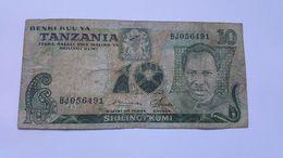 TANZANIA 10 SHILINGI 1978 - Tansania