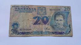 TANZANIA 20 SHILINGI 1978 - Tanzania