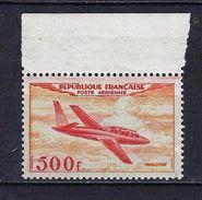"FR Aerien YT 32 "" Prototype : Magister "" 1954 Neuf ** BDF - 1927-1959 Mint/hinged"