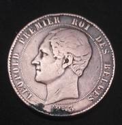 MEDAILLE - Leopold 1er Roi Des Belges / Duc Et Duchesse De Brabant - 1853 - Royaux / De Noblesse