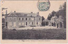 Tigy (Loiret) Château La Matholière - Intérieur - France