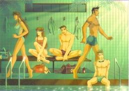 """Carte Postale """"Cart'Com"""" (2003) - Ligne Azur (homo, Hétéro, Bi...) - Advertising"""
