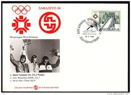 Yugoslavia Sarajevo 1984 / Olympic Games Sarajevo / Jump Skiing Men, Igman - Hiver 1984: Sarajevo