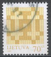Lithuania 1998. Scott #602a (U) Double Barred Crosses - Lituanie