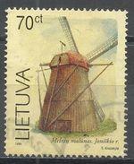 Lithuania 1999. Scott #631 (U) Melniai Windmill - Lituanie