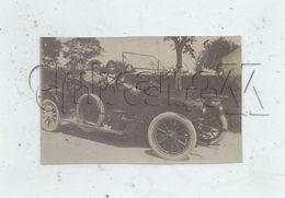 Montpellier (34) : GP De Voiture Sur Une Route En 1900 PHOTO RARE. - Automobili