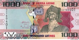 SIERRA LEONE 1000 LEONES 2013 P-30b UNC [SL125b] - Sierra Leone