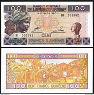 Guinea 100 FRANCS 2012 P 35 UNC - Guinea