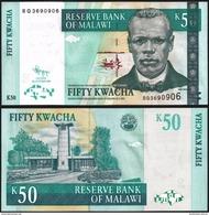 Malawi 50 KWACHA 2009 P 53d UNC - Malawi