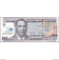 TWN - PHILIPPINES 218 - 100 Piso 2013 - 20th Ann. Financially Proper Toward The Development - Prefix JP UNC - Filippine