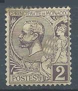 Monaco YT N°12 Prince Albert 1° Neuf/charnière * - Unused Stamps