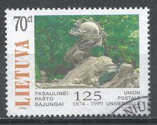 Lithuania 1999. Scott #635 (U) UPU, 125th Anniv. - Lituanie