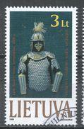 Lithuania 1999. Scott #646 (U) Hussar Armor - Lituanie