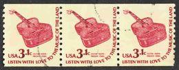 United States - Scott #1613 Used - Strip Of 3 - Francobolli In Bobina