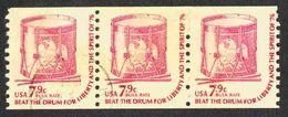 United States - Scott #1615 Used - Strip Of 3 - Rollenmarken