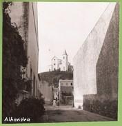 Alhandra - REAL PHOTO - Rua E Igreja. Vila Franca De Xira. - Lisboa