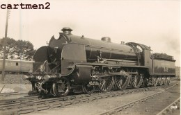 CARTE PHOTO : ENGLAND SOUTHTEN RAILWAYS LOCOMOTIVE TRAIN GARE LOKOMOTIVE CHEMIN DE FER STATION ESTACION LOCOMOTORA TREN - England