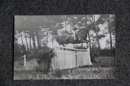 EQUITATION - HIPPISME, Cavalier Au Saut D'Obstacle - Postcards