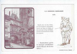 CPA Rouen Patriotique Grosse Horloge De Felains Girieud Souhaitons Qu'elle Marque Prochainement L'heure De La Victoire ! - Rouen