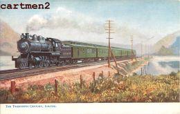THE TWENTIETH CENTURY OILETTE TRAIN LOCOMOTIVE ZUG BAHNHOF LOKOMOTIVE STATION ESTACION TREN LOCOMOTORA - Trains