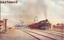 MONTREAL CANADA TRANS-CONTINENTAL EXPRESS WINDSOR TRAIN LOCOMOTIVE ZUG BAHNHOF LOKOMOTIVE STATION ESTACION - Gares - Avec Trains